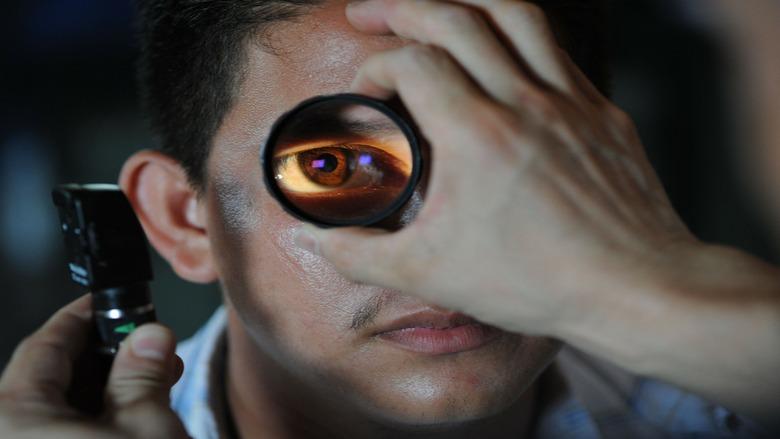 Glaucoma Patient